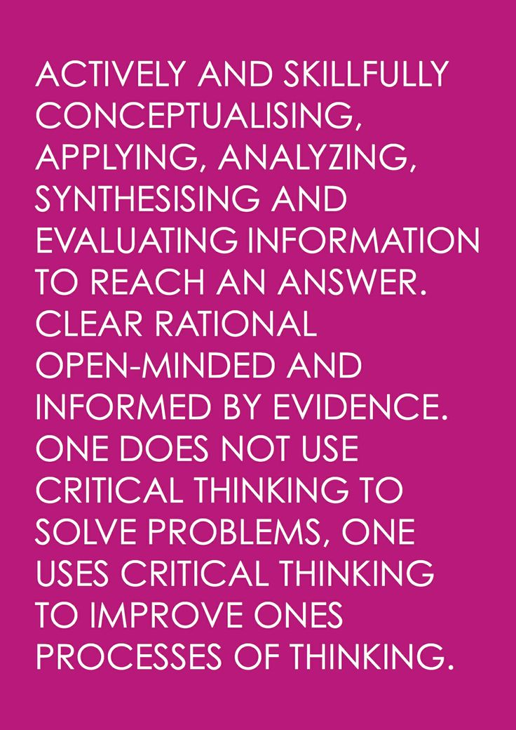 "definition of critical thinking in research Body of research, however, in the case  i will use diane halpern""s broad definition of critical thinking as a  important that critical thinkers process."
