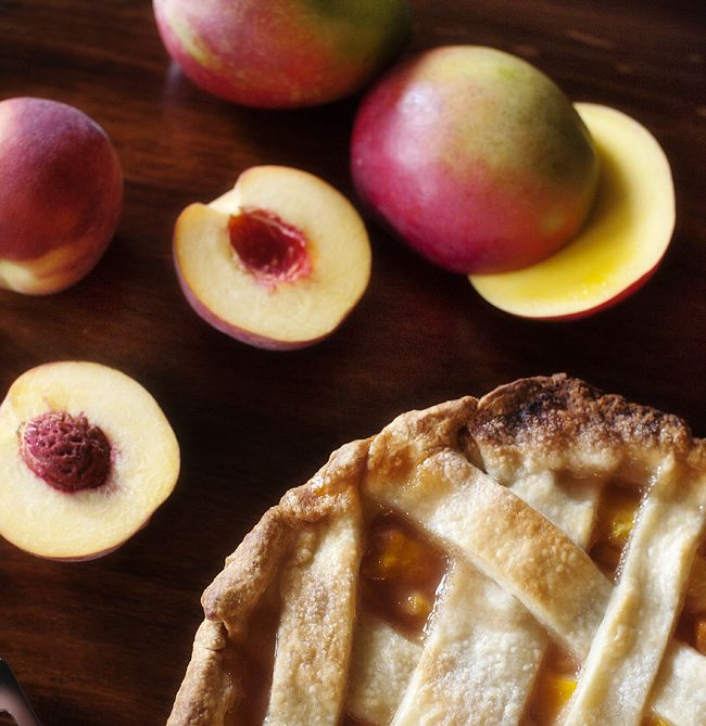 Peach Mango Pie | After Dinner Delights | Pinterest