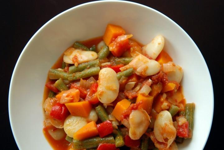 Spanish Green Bean and Lima Bean Stew   Food   Pinterest