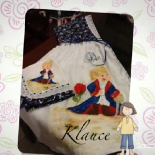 Toalha fralda do pequeno principe