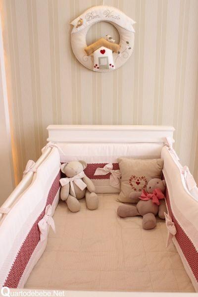 Kit Berço para decorar quarto de bebê61