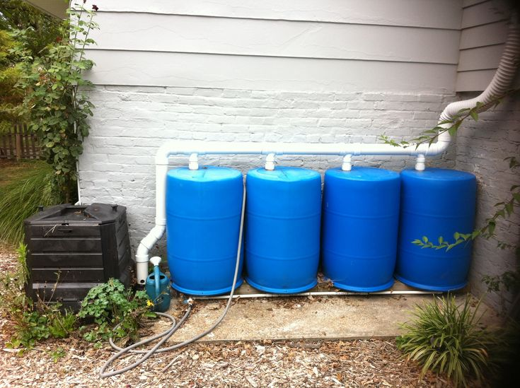Rain barrel system outdoor inspiration pinterest for Making rain barrel system