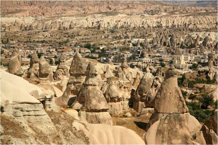 Reliefs de Cappadoce