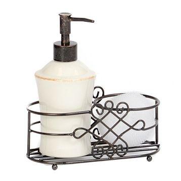 Ceramic soap pump caddy kirkland 39 s kirkland pinterest - Soap pump caddy ...