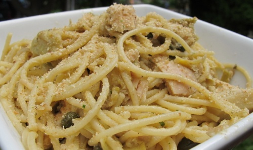 Artichoke, Caper and Tuna Pasta | Dinner Recipes | Pinterest