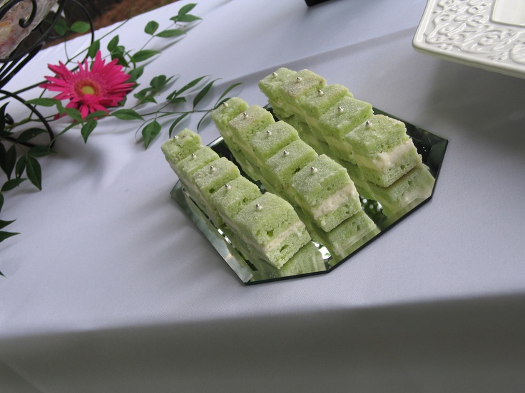 Pistachio Petit Four | Sweets, Candy, Chocolate | Pinterest