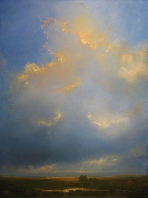 Adriano Farinella. Blessing.                                                   30x40 oil on canvas