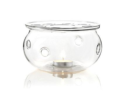 Teavana aurora glass teapot warmer with tea light - Teavana glass teapot ...