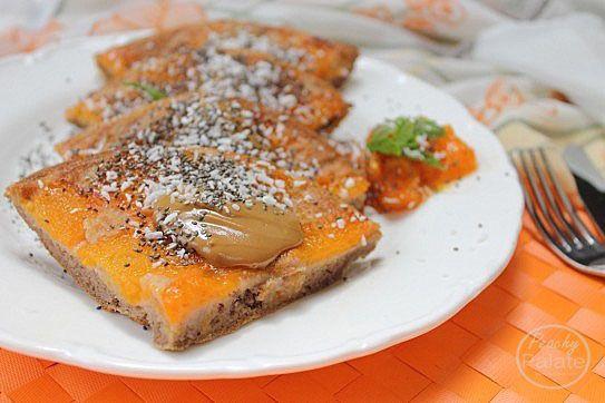 Vegan Apricot Tatin Baked Pancake | Pancakes & Waffles | Pinterest