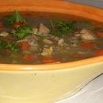 Comforting Ground Beef and Barley Soup (and Happy Birthday to Rand ...