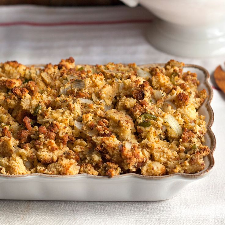 Corn Bread and Sausage Stuffing | Recipe