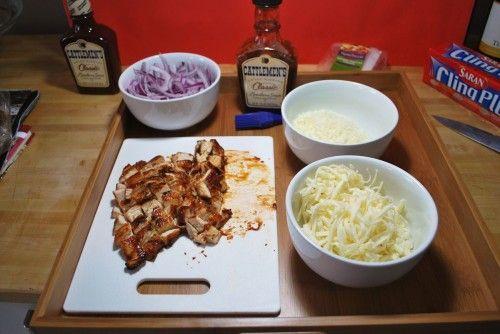 Grilled BBQ Chicken Pizza 1 pizza dough – (Basic Pizza Dough Recipe ...