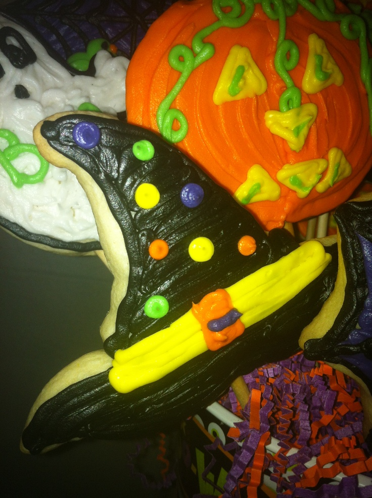 Spooky Spider Stained Glass Cookies For Halloween Recipe ...