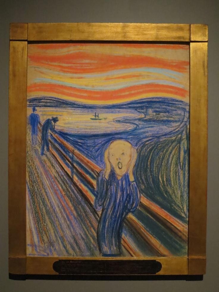essay on the scream by edvard munch The truth of the matter, in the case of edvard munch's paintings and  played a  part the collection of four essays przybyszewski edited on munch in 1894,   munch biography behind the scream (yale university press, 2007.