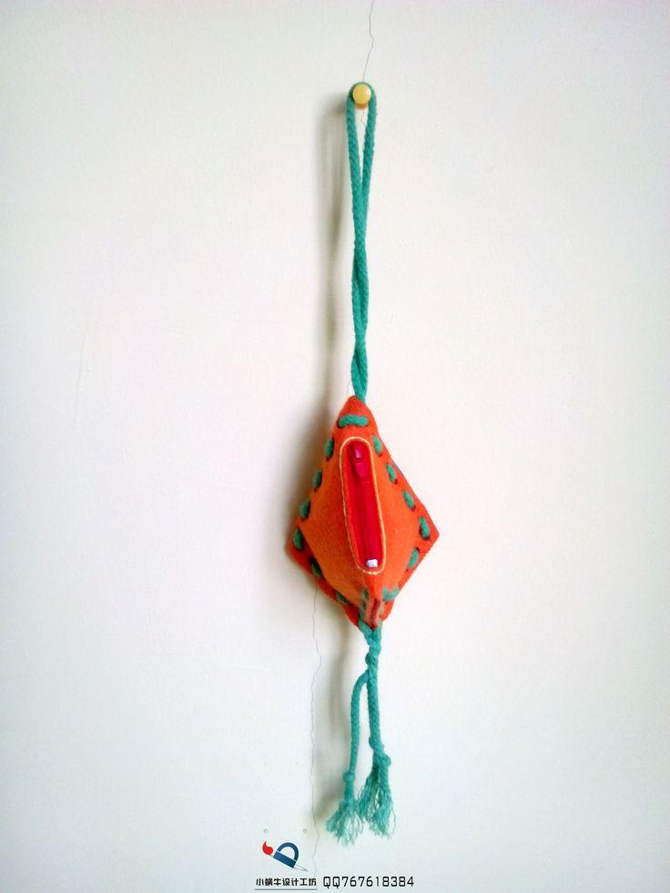 菱形创意零钱包change purse | MY DIY