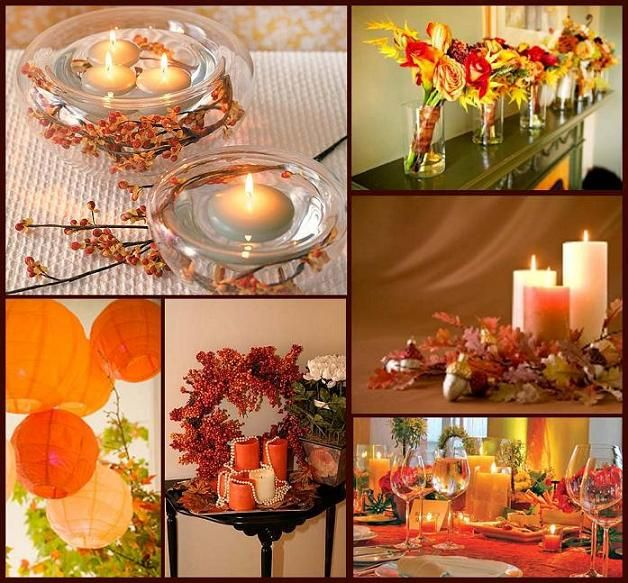 Fall table decorations fall ideas pinterest for Autumn wedding decoration ideas
