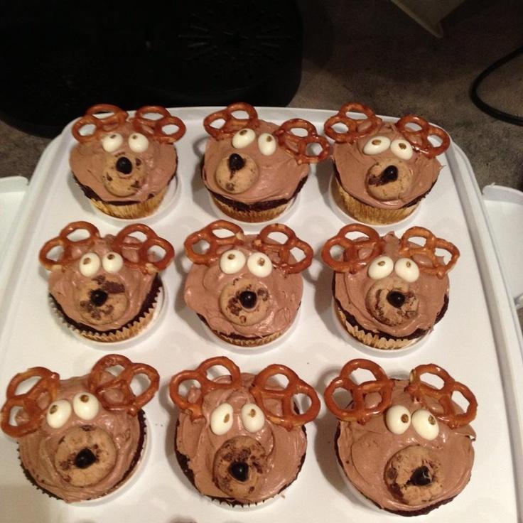Moose+Cupcakes Moose cupcakes- made these! | Cupcake my Cupcakes ...