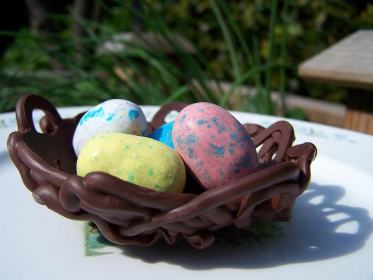 Easter Bird's Nest Bread Recipe — Dishmaps