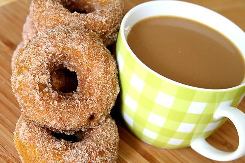Pumpkin Spice Doughnuts | Indulge | Pinterest