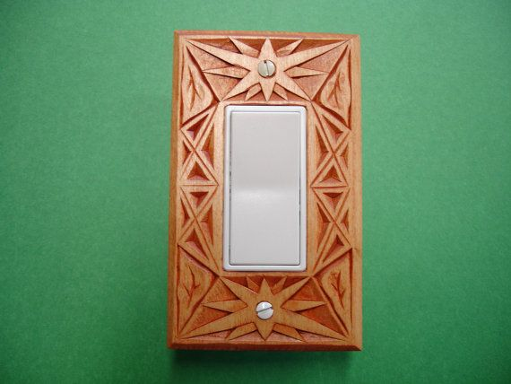 Art deco electric switch and outlet cover plate - Art deco switch plate covers ...