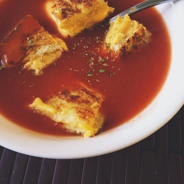 foodie moment: Grilled Cheese Croutons | Food | Pinterest
