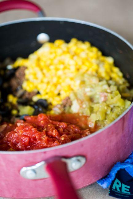 Burrito Pie | Mexican Food | Pinterest