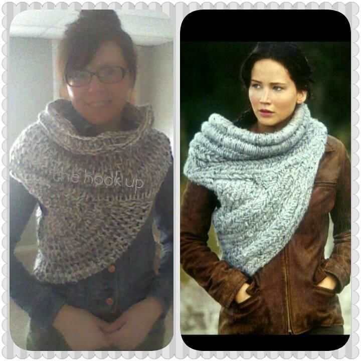 Katniss Scarf Knitting Pattern : Katniss Cowl Catching Fire Scarf Clothing and Shoes Pinterest
