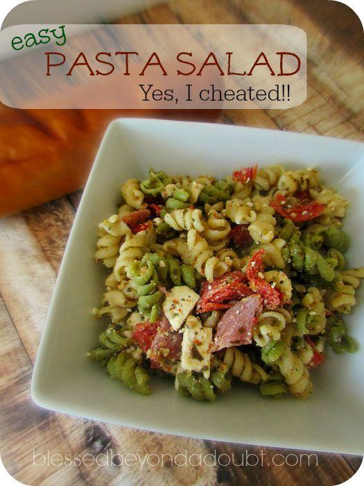 Easy Cold Pasta Salad Recipe