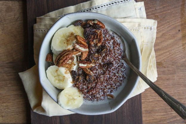 COCONUT QUINOA PORRIDGE   Healthy food   Pinterest