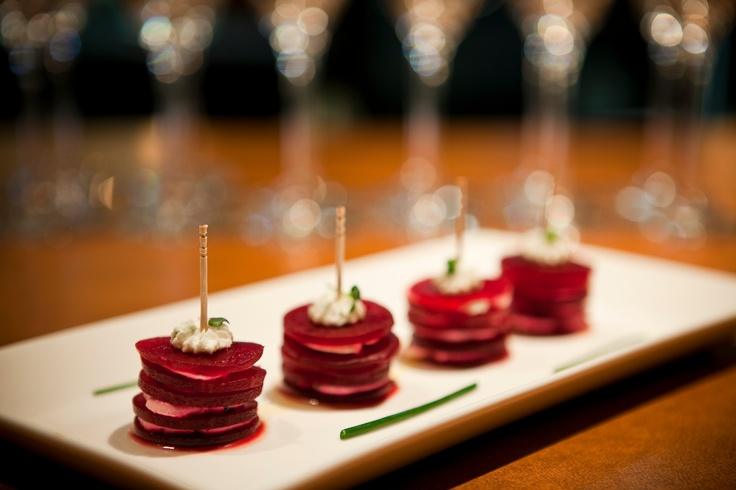 Roasted beets and Herbed goat cheese. | Napa Dining Favs | Pinterest