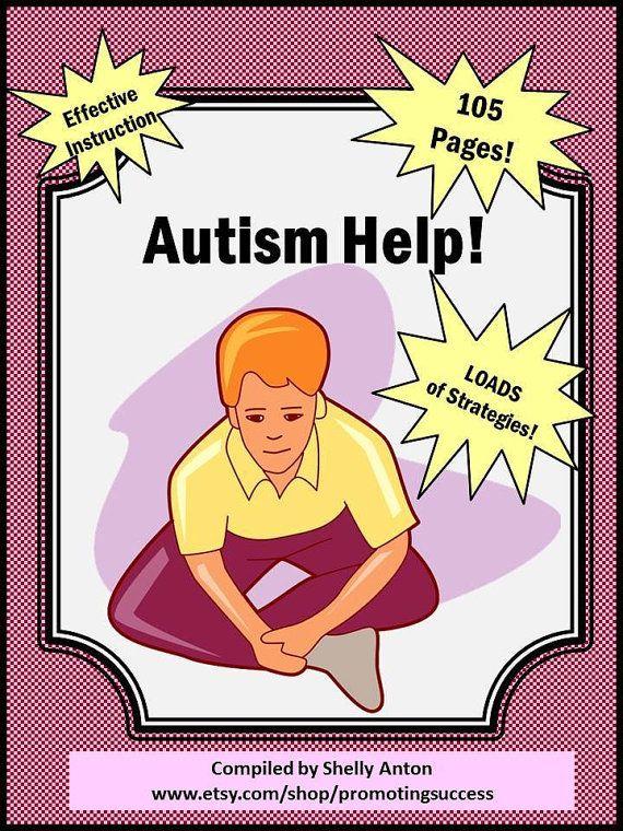 Teaching Resources Autism Help Strategies by PromotingSuccess ...