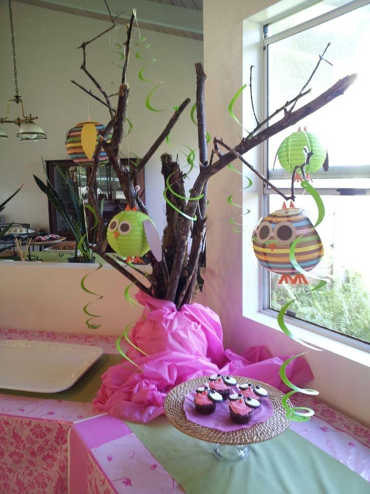 owl lantern centerpiece baby shower baby shower idea 39 s pinterest