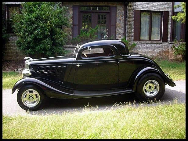 1934 ford 3 window coupe cars pinterest for 1934 3 window ford coupe