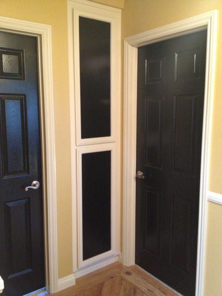 Black interior doors home decorations pinterest - Sophisticated black interior doors ...