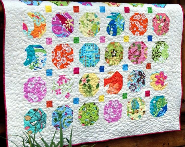 Quilt Patterns Snowball Block : bright and beautiful snowball quilt Q = Quilts Pinterest