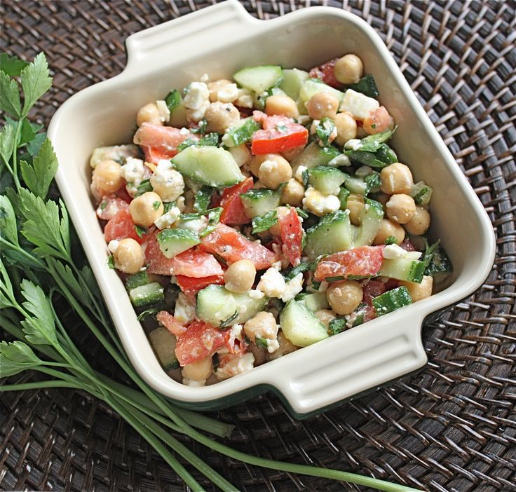 Big Mouthful : What I've been up to + Mediterranean Chickpea Salad