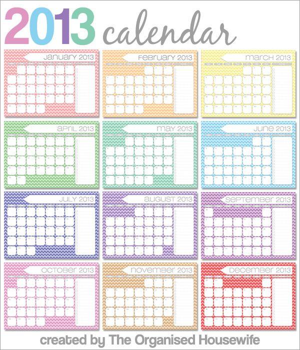 April Calendar List : Free printables monthly calendars with to do list