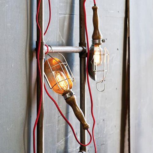 Industrial Drop Light