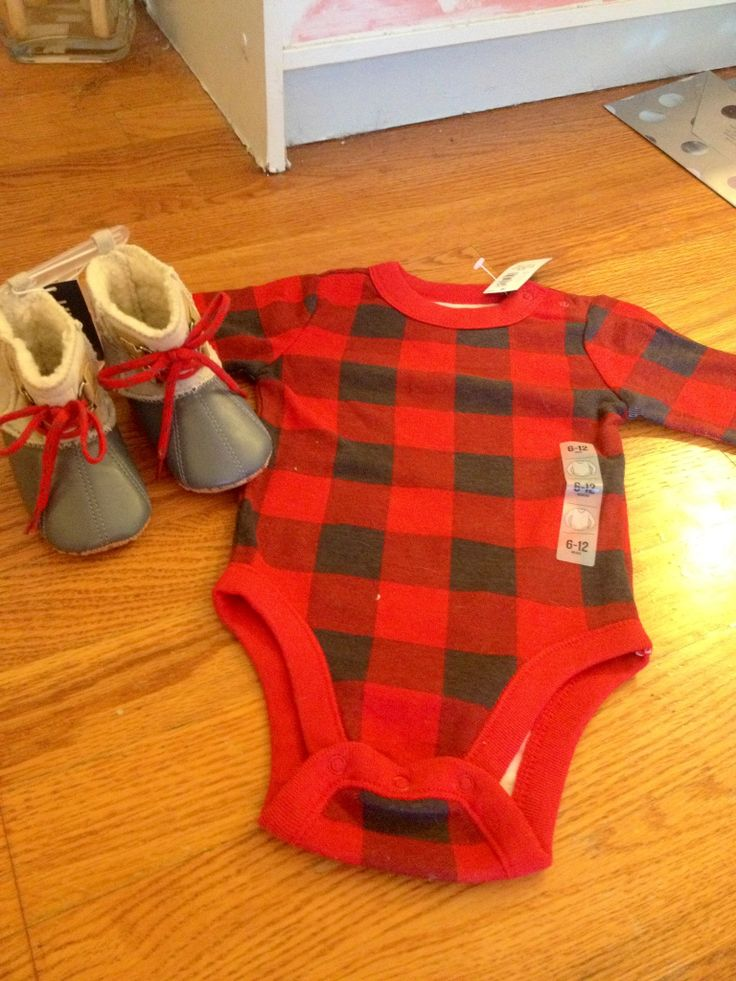 Old Navy Baby lumberjack Baby Clothes