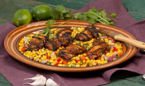 Spicy sweetness in this Mexican influenced marinade. Simmer the ...