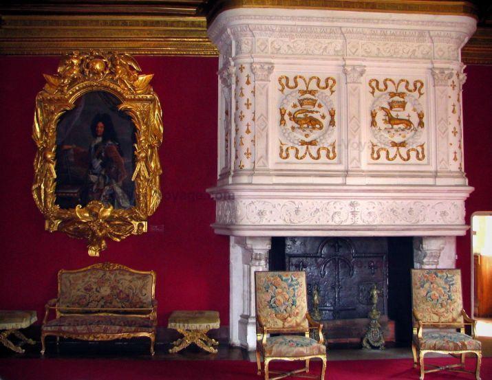 Chateau de chenonceau castles interior design pinterest for Chateau chenonceau interieur