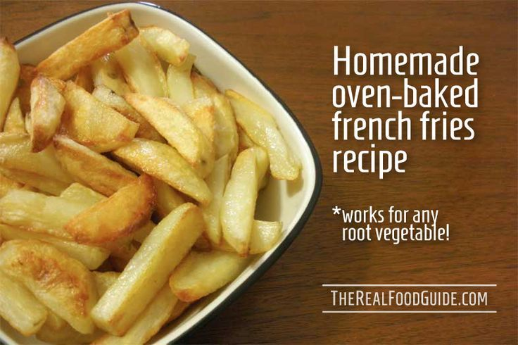 Homemade oven baked french fries recipe. | Favorite Recipes | Pintere ...
