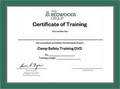Fire Training Certificate Template