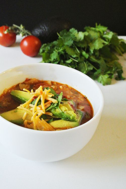Turkey Tortilla Soup | S A V O U R | Pinterest