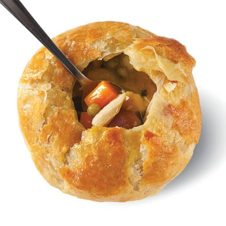 Chicken Pot Pie With Puff Pastry | Recipes to Cook | Pinterest