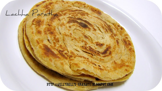 Lachha Paratha ~ Kitchen Secrets and Snippets | Indian recipes ...