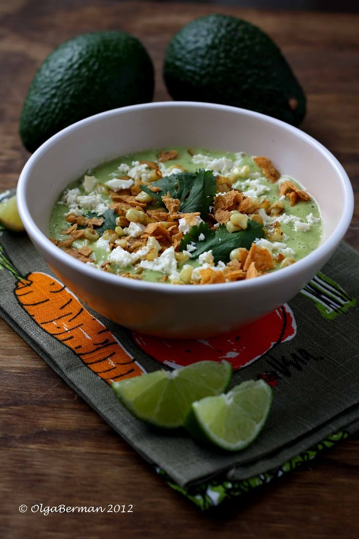 ... Love Avocados? Want Something Other Than Guacamole? Make Avocado Soup