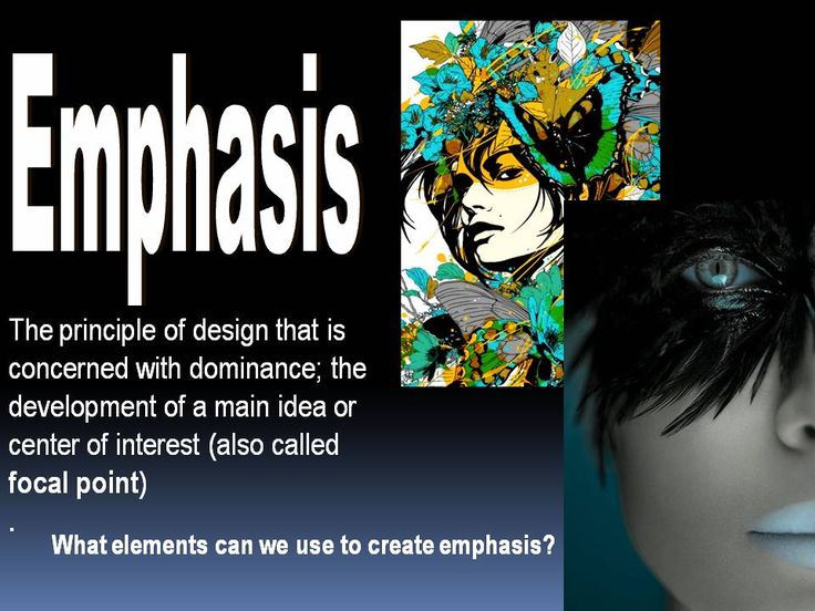 Principles Of Art Emphasis : Principles of art emphasis lesson elements and