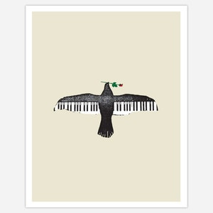 Song Bird 8x11 now featured on Fab.