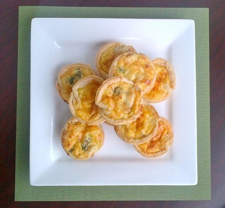 Mini Broccoli Cheddar Quiche   Foodies   Pinterest